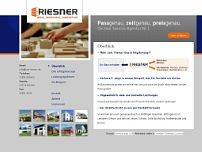Riesner website screenshot