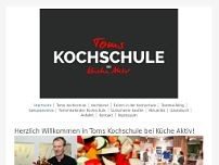 Kochkurse Tom Rosenberger website screenshot
