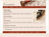 Dieter Buhrmann website screenshot