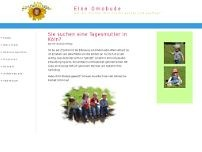 Elke Omobude website screenshot