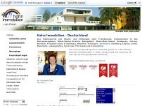 Hahn-Immobilien website screenshot