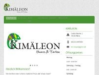 Kimäleon website screenshot