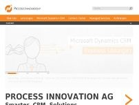 PROCESS INNOVATION AG website screenshot