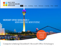 Computerschulung Düsseldorf | Malte Koch website screenshot