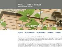 Kanzlei Paulus - Westerwelle website screenshot