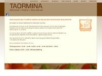 Taormina website screenshot