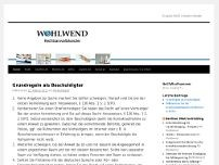 Wohlwend website screenshot