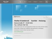 Stefan Krambrock website screenshot