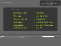 Jörg`s US-Car Kustom Shop website screenshot