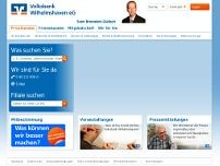 Volksbank Wilhelmshaven eG website screenshot