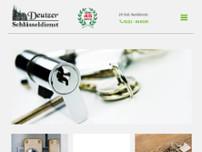 Deutzer Schlüsseldienst website screenshot