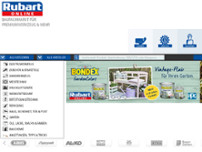 Heinrich Baucentrum Rubart GmbH & Co.KG website screenshot