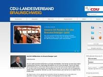 Landesverband Braunschweig website screenshot