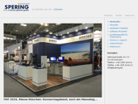 SPERING micro-systems gmbh website screenshot