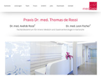 Axel de Rossi website screenshot