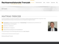 Matthias Trenczek, Cornelia Groth website screenshot