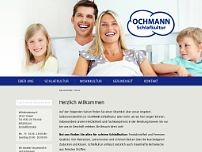 Ochmann Schlafkultur website screenshot