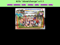 Kita Aland-Zwerge e.V. website screenshot