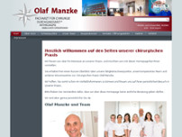 Olaf Manzke website screenshot