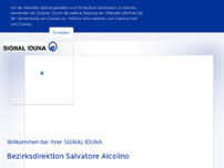 Salvatore Aicolino website screenshot