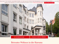 Kursana Villa Wiesbaden website screenshot