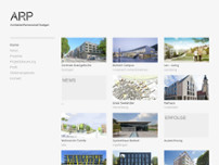 ARP Architektenpartnerschaft Stuttgart GbR website screenshot
