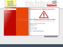 Johannes Tabbert Jalousien GmbH website screenshot