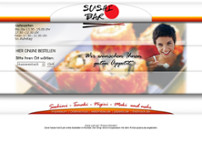 Sushi Bar International website screenshot