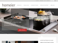 Max Homeier website screenshot