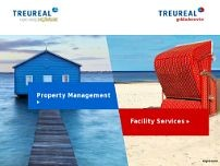 TREUREAL Consulting GmbH website screenshot