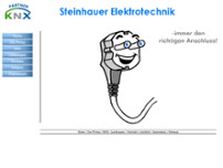 Steinhauer-Elektrotechnik website screenshot