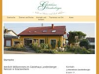 Waldtraude Landenberger website screenshot