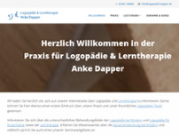Anke Dapper website screenshot