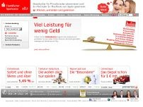 Frankfurter Sparkasse website screenshot