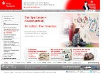 Förde Sparkasse website screenshot