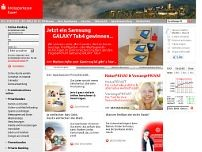 Kreissparkasse Kusel website screenshot