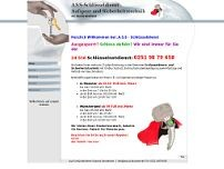 ASS Schlüsseldienst website screenshot