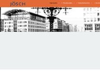 Günter Jösch website screenshot
