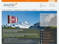 avocis West GmbH website screenshot