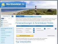 Nordseeklar website screenshot