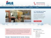 Ihle Bad & Wärme website screenshot