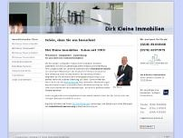 Dirk Kleine website screenshot