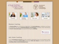 Coaching an der Alster website screenshot
