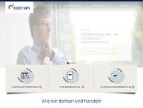 zeptrum GmbH & Co. KG website screenshot