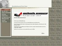 Schuh Sauer GmbH & Co. KG website screenshot