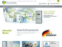 RSV Ruhstrat Stromversorgungen GmbH website screenshot