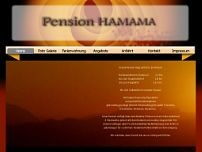 Pension Hamama website screenshot