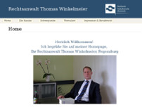 Thomas Winkelmeier website screenshot