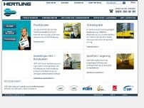 Hertling GmbH & Co. KG website screenshot