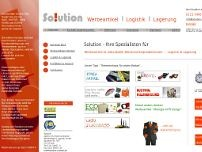 Solution GmbH website screenshot
